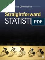 Straightforward Statistics ISBN 9781483358918