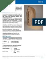 Bentonite CM015 Leaflet