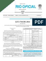 Ley1744de2014- Ley de Regalias