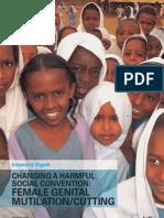 Changing a Harmful Social Convention - Female Genital Mutilation