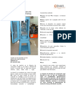 Ficha Técnica Prensa Forney