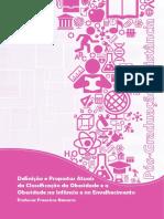 Definição e Propostas Atuais Da Classificação Da Obesidade e a Obesidade Na Infância e No Envelhecimento