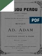 Adam - Le Bijou Perdu