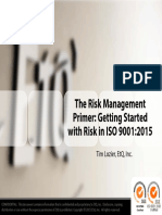 Risk Primer