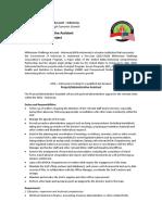 55Advert MCA-I Project Administrative-Assistant Sep-2016