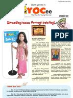 YOCee Newsletter Nov 07