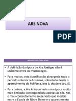 3- ARS NOVA