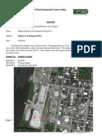 10.26.16 NYS DEC REPORT REGION 4, WASHINGTON PLACE