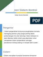 Komponen Sistem Kontrol Dan Diagram Blok
