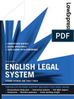 English Legal System - Law Express - Emily Finch