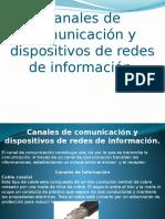 canales decomunicacion de una red