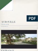 Visitors Centre Auroville