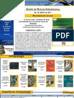 Boletín Nuevas Adquisiciones CD_CISH Marzo