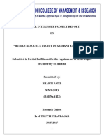 Arihant City bhiwandi (HR Policy )