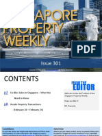 Singapore Property Weekly Issue 301