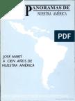 José Martí a Cien Años de Nuestra América