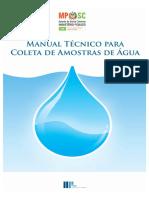 Manual coleta Agua