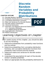 3- Discrete Random Variables & Probability Distributions