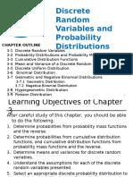 3- Discrete Random Variables & Probability Distributions