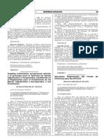 Aprueban Reglamento del Fondo de Solvencia para las AFOCAT