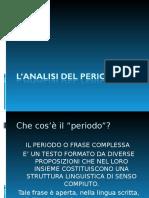 Lanalisi Del Periodoscuola