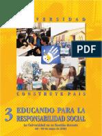 Universidad Construye País 2003- Documentos Responsabilidad Social