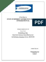 Report on Different distribution channels of sundaram mutula