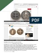 Medalla San Benito Contra Demonios