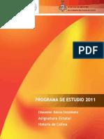 Ae Historia de Colima 2013