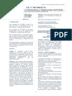 Decreto Supremo N° 083-2004-PCM