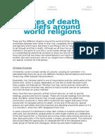 P.R.E. Death Religion Rites.word