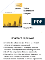 Lecture 2 Mission and Visiondavid Sm15ge Ppt CH05 Lect2 Ifolio