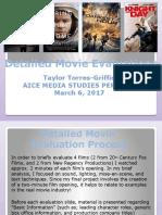 Detailed Movie Evaluations Portfolio Research