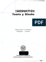 ACUEDUCTOS Teoría y Diseño Corcho