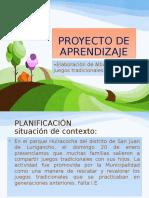 Ejemplo de Proyecto de Aprendizaje