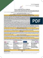 Lavasa Corporation Limited DRHP