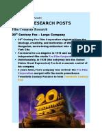 Portfolio Research