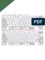 Phonetic Keyboard Layout