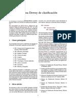 Sistema Dewey de Clasificación