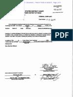 Alfredo Plascencia Complaint