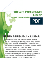 Sistem Persamaan Linier Eni