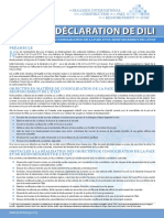Dili Declaration FRENCH