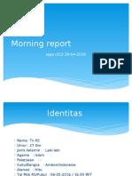 Morning Report [MIGRAINE]