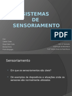 Sistemas de Sensoriamento