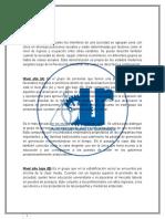 Estratos Sociales de Guatemala