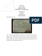PN Diode Electronics lecture 4