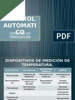 Control Automatico Sensores de Temperatura
