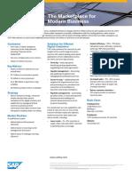 SAP Ariba Corporate Fact Sheet