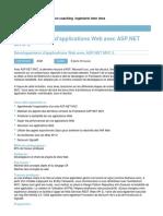 Developpement d Applications Web Avec ASP Net Mvc 5