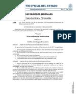 Presupuestos Navarra